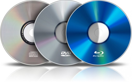 Blank CD/DVD/BD and Cases