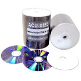 ACU-DISC ® DVD-R 4.7GB 16x White Inkjet (100pk)
