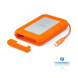 LaCie 1TB Rugged TBolt/USB3 embedded TBolt cable STEV1000400
